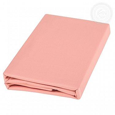 Пододеяльник сатин, розовый