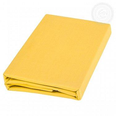 Пододеяльник сатин, желтый