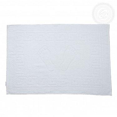 """Полотенце махровое для ног """"Классик"""", белый, 50*70 см"""