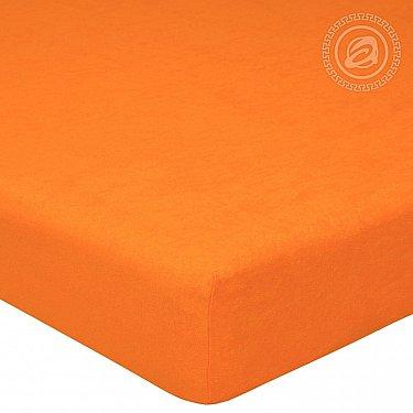 """Простынь махровая на резинке """"Апельсин"""""""