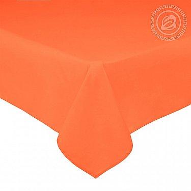 Простынь сатин, оранжевый