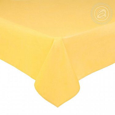 Простынь сатин, желтый