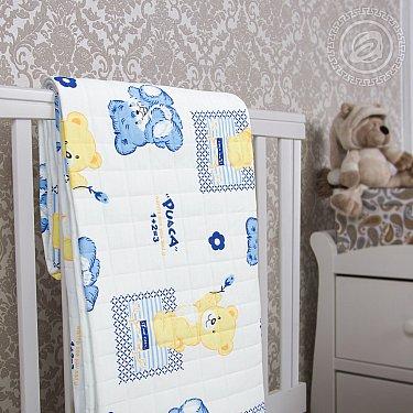 """Одеяло-покрывало трикотажное """"Медвежата"""""""
