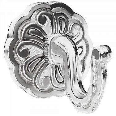 """Комплект крючков для штор """"Классика"""", дизайн 109.581, хром"""