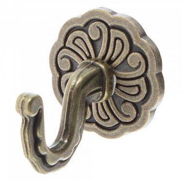 """Комплект крючков для штор """"Классика"""", дизайн 109.650, золото антик"""