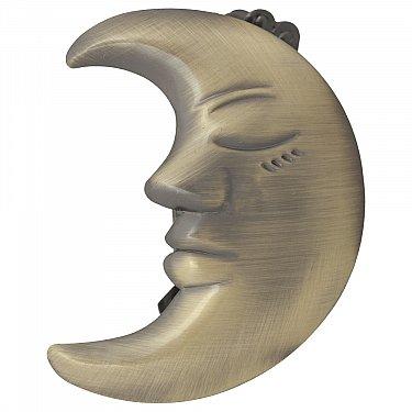 """Держатель-клипса для штор """"Месяц"""", дизайн 114.650, золото антик"""