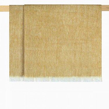 Плед шерстяной Arya Norah, желтый, 125*150 см