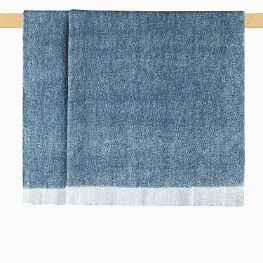 Плед шерстяной Arya Norah, сине-зеленый, 125*150 см