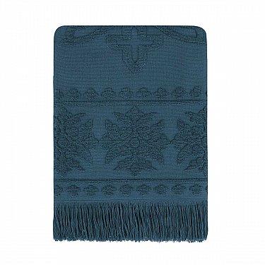 Полотенце с бахромой Arya Boleyn, темно-синий
