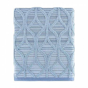 Полотенце жаккард Arya Teton, синий