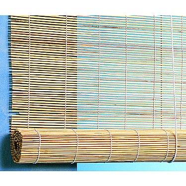 Бамбуковая рулонная штора, натур