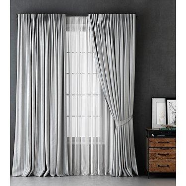 Комплект штор Алекс, светло-серый