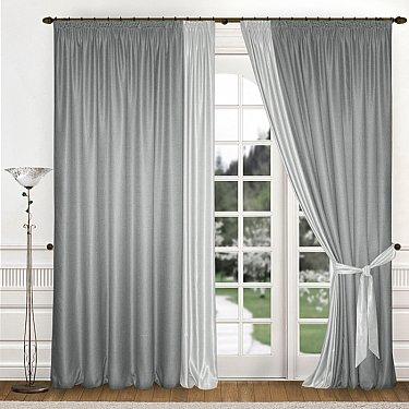 Комплект штор К312-4, серый