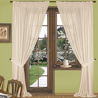 Комплект штор К332-4, кремовый