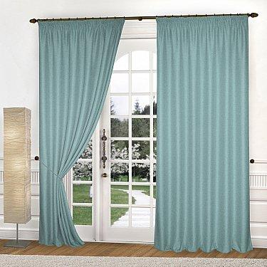 Комплект штор К335-9, бирюзовый