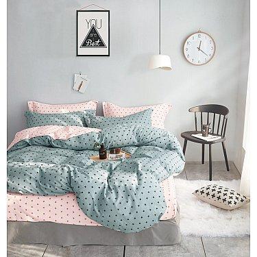 КПБ Сатин Twill дизайн 390 (1.5 спальный-A)