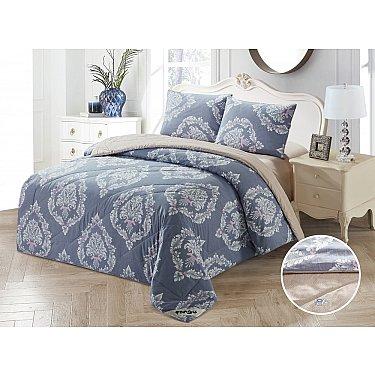 КПБ Сатин Tango Primavera с одеялом дизайн 01 (Евро)