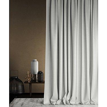 """Портьеры негорючие """"Бали"""", светло-серый, 145*290 см"""