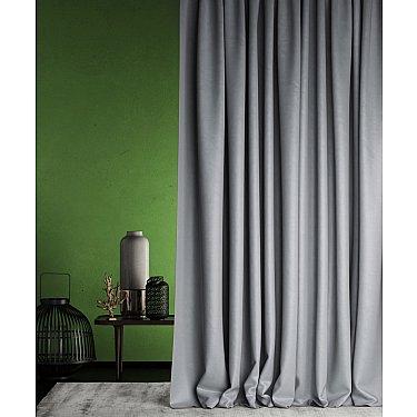 """Портьеры негорючие """"Бали"""", серый, 145*290 см"""