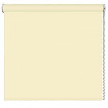 Рулонная штора ролло blackout, лимон, ширина 120 см-A