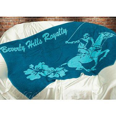 Пляжное полотенце Беверз Хилз, 75*150 см, голубой