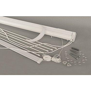 Карниз металлический для римских штор Delfa СК DS 7500R