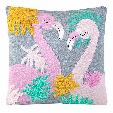 Наволочка декоративная детская Arya Flamingo, 35*35 см
