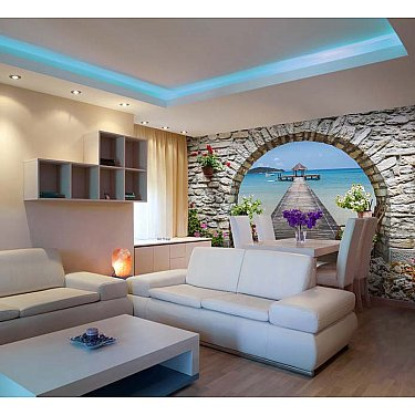 "Фотофреска на стену живопись ""Арка"", 390*270 см"