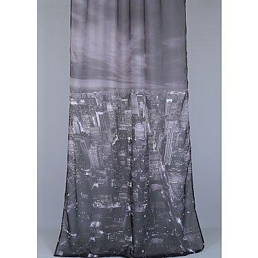 "Тюль ""Акрополис Нью-Йорк"", серый"