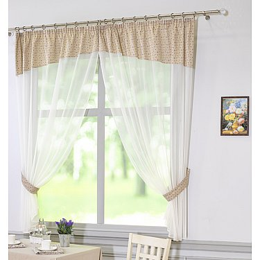 Комплект штор Конфети, дизайн 26-71002