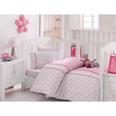 КПБ Cotton Box Ясли Ранфорс с вышивкой дизайн 05 (Новорожденный)