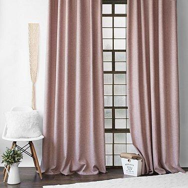"""Комплект штор с подхватами """"Конни"""", розовый"""
