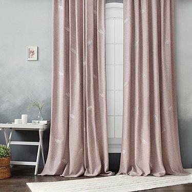 """Комплект штор """"Мика"""" , розовый, 145*270 см"""