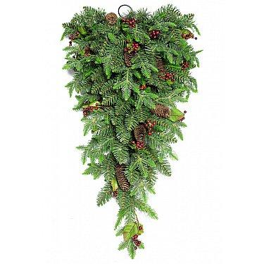 Украшение еловое Denver с шишками и ягодами 0,8 м