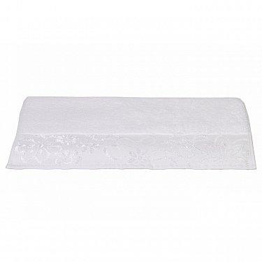 """Махровое полотенце """"DORA"""", белый, 50*90 см-A"""