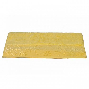 """Махровое полотенце """"DORA"""", желтый, 50*90 см-A"""