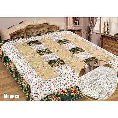 """Одеяло-покрывало I.M.A. Gold """"Моника"""", белый, зеленый"""
