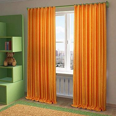 """Шторы """"Жульет"""", оранжевый, 170*270 см"""