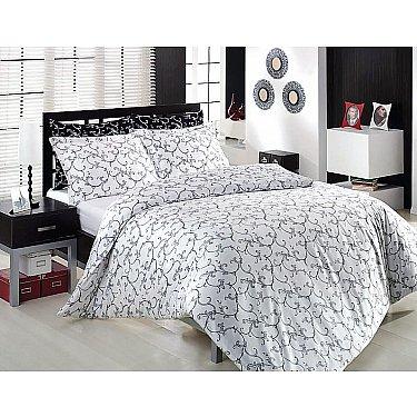 Комплект постельного белья ALTINBASAK ELIS  (Евро), серый
