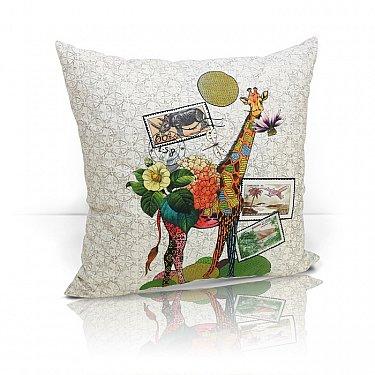 "Подушка декоративная ""Giraffe"", дизайн 490-A"