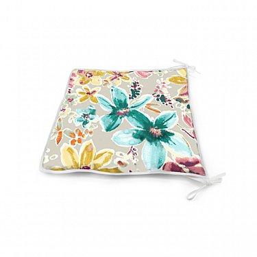 "Подушка на стул ""Moonflower"", дизайн 140"