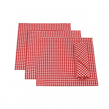 """Набор салфеток """"Red Kimberly"""", дизайн 630"""