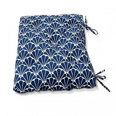 "Подушка на стул ""Blue Garden-S"", дизайн 150"