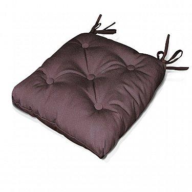 "Подушка на стул ""Brown"", дизайн 140"