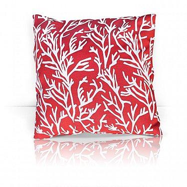 "Подушка декоративная ""Red Corals"", дизайн 140"