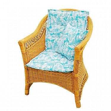 """Подушка на стул со спинкой """"Sky Palma"""",  дизайн 100"""