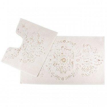 Набор ковриков для ванной Arya Luxor (60*100 см; 50*60 см), кремовый