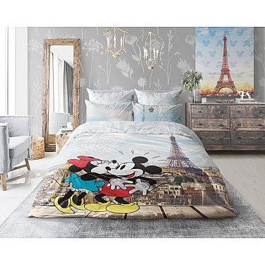 """КПБ Love Me """"Minnie in Paris"""" в сумке ПВХ (2 спальный)"""