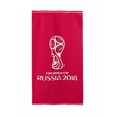 """Полотенце махровое """"FIFA Кубок"""", красный"""