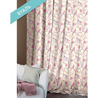Комплект штор Этно Вуаль Fairy Forest, розовый
